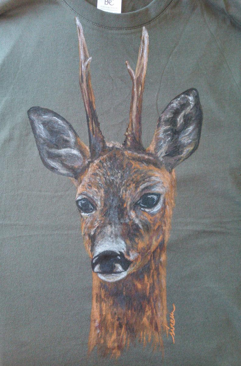 corzo_sirem_camiseta pintada a mano