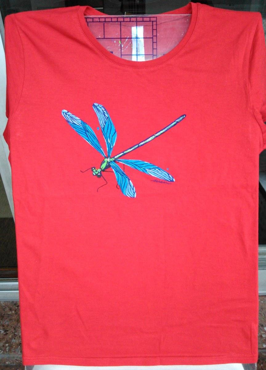 libelula_sirem_2_camiseta pintada a mano