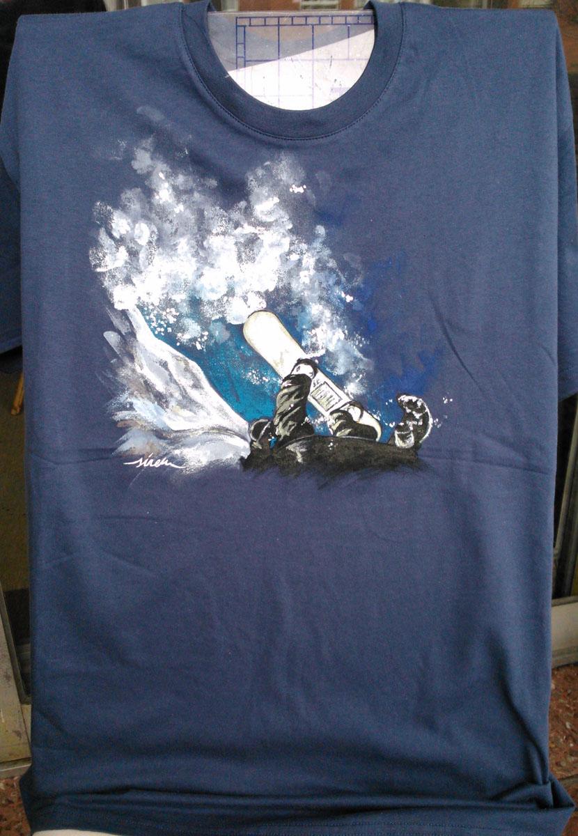 snow_sirem_2_camiseta pintada a mano